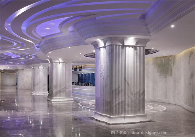 高德置地 飞扬影城-梁卓霖的设计师家园-电影院,其他风格,蓝色,灰色,白色