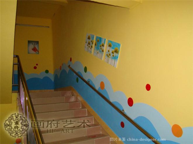 上饶乡村新农村手绘文化墙,上饶幼儿园墙绘-画府手绘艺术工作室的设计