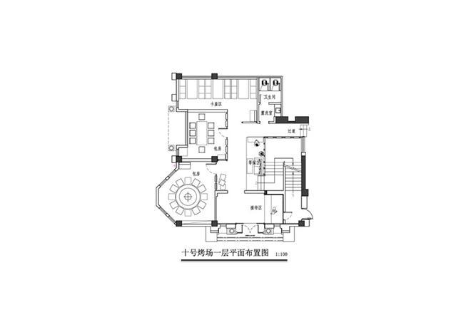 十号烤场(印象店)-曹健的设计师家园-烧烤店,其他风格,工业化