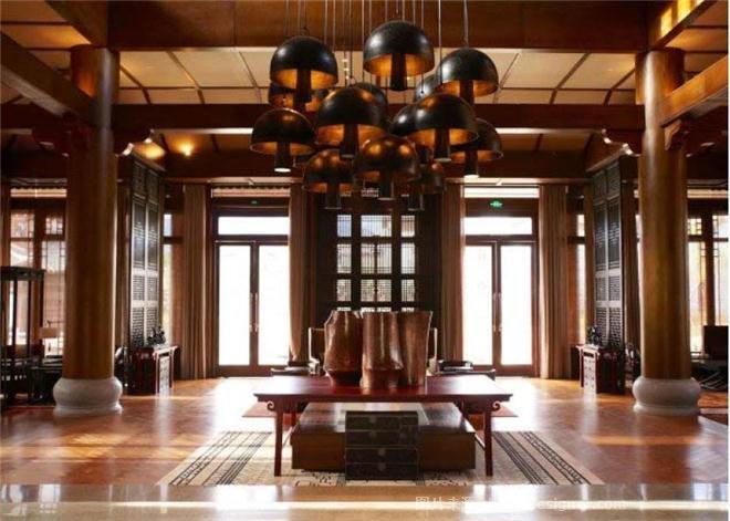 金茂丽江君悦酒店-姚微的设计师家园-度假酒店,新中式,其他气氛,沉稳庄重,其他颜色,棕色,黄色,黑色,白色