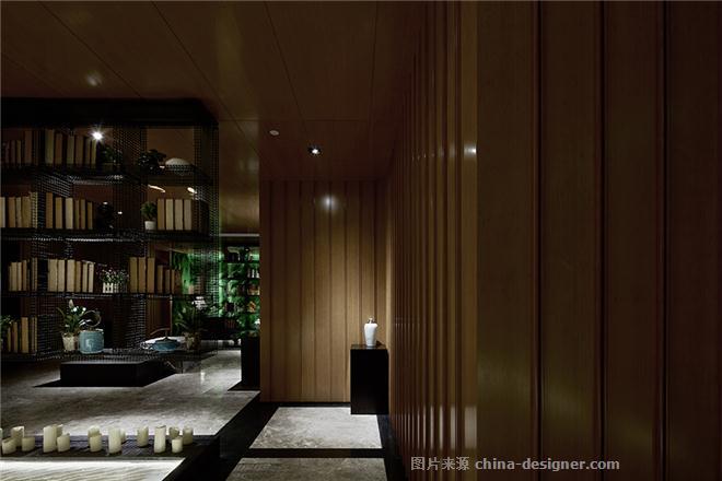 婉约四季 游鱼江南-吕靖的设计师家园-其他                                                                                                ,中餐厅,新中式,闲静轻松,简约大气,黄色,白色