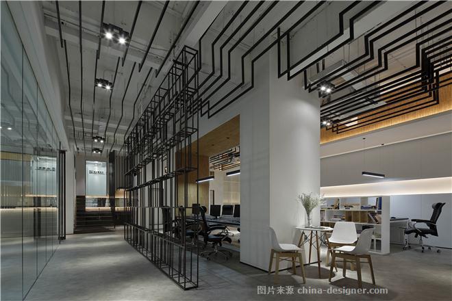 米澜国际空间设计事务所-陈书义的设计师家园-办公区,现代简约,黑色,灰色,白色