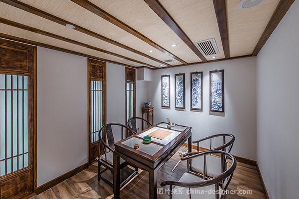清友闲风茶馆-周然的设计师家园-新中式,茶馆,中式,禅文化