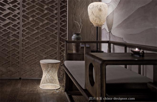 不�素食馆-蒋国兴的设计师家园-主题餐厅,中餐厅,新中式,原生态,简约大气,沉稳庄重,闲静轻松,其他颜色,灰色,白色