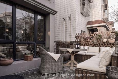 巢之法子-和伟的设计师家园-独栋,美式,复古 做旧 水泥 素雅