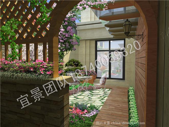 沈阳花园公馆下沉远洋安康建筑设计中标图片