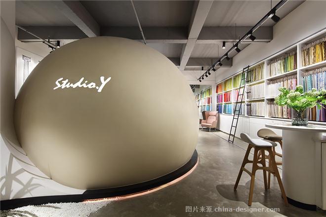 小巨蛋-余颢凌的设计师家园-办公区,现代简约,青春活力,闲静轻松,白色