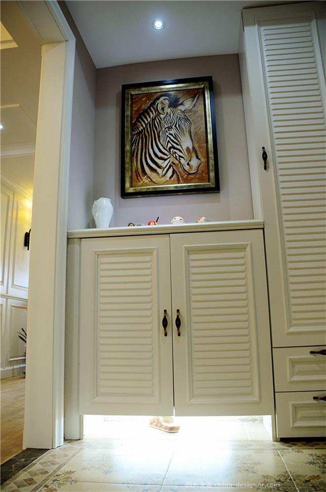 唐岛金湾住宅-西冰的设计师家园-三居,美式,简约大气,奢华高贵