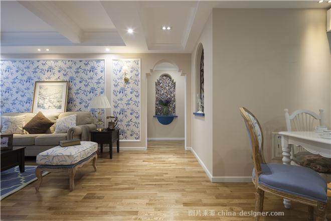 青之蓝-马永的设计师家园-三居,简美风格,原生态,蓝色,闲静轻松