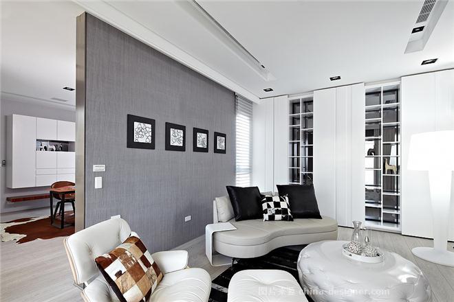 �� �^-�钨t文的设计师家园-现代简约,简约大气,黑色,灰色,白色