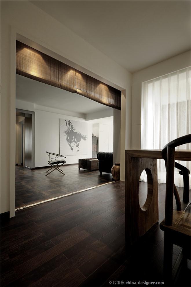 一见中情-杨凯的设计师家园-现代简约,简约大气,沉稳庄重