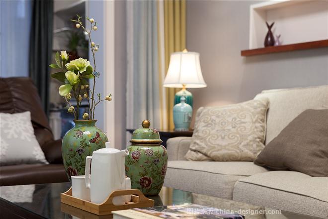 德诚翠湖湾-邵琳的设计师家园-三居,请选择,简约大气,灰色