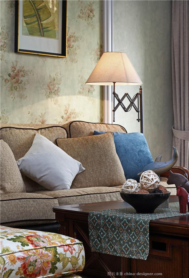 悦秋物语-陈成的设计师家园-两居,简美风格,紫色,蓝色,绿色,粉色,原生态,青春活力,奢华高贵,闲静轻松