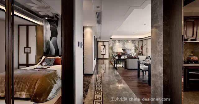 融林星海湾样板间-徐慧的设计师家园-住宅样板间,新中式,奢华高贵