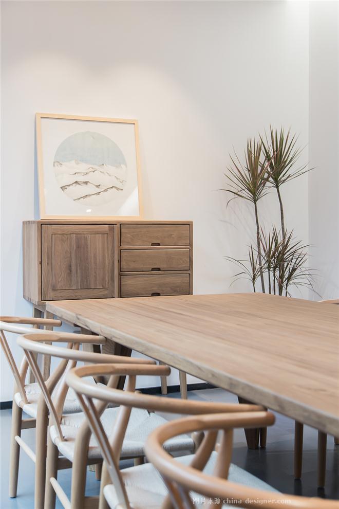简璞设计办公室-文超的设计师家园-办公区,混搭,原生态,简约大气,闲静轻松,白色