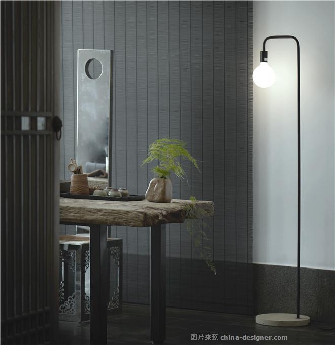 悟空人文设计会所-尹坚的设计师家园-办公区,新中式,棕色,黑色,灰色,白色