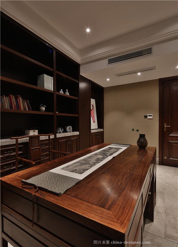 念&回归-胡青奎的设计师家园-四居,新中式,绿色