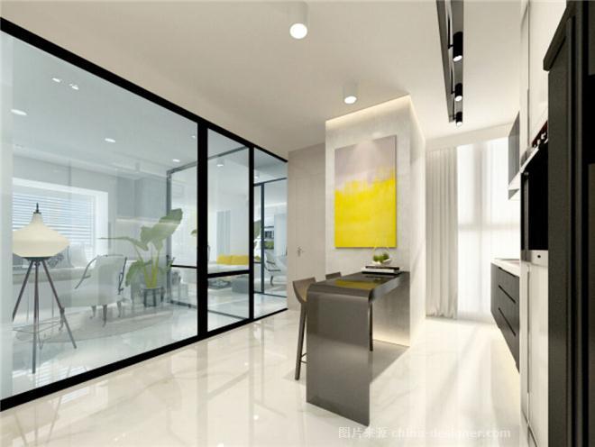 塔然塔建筑设计最新项目 上海多功能公寓-恩里克・塔然塔的设计师家园-两居,现代简约,闲静轻松,简约大气,奢华高贵,白色