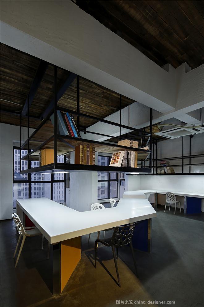 梵舍设计事务所办公室-梁斌的设计师家园-LOFT,办公区,其他风格,工业化,棕色,黑色,白色