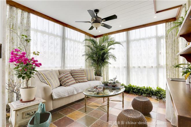 迪臣世纪豪苑。李宅-张志忠的设计师家园-花园洋房,美式乡村,闲静轻松
