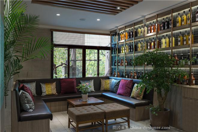 Cravings咖啡旗舰店-祖父江贵的设计师家园-西餐厅,都会风格,闲静轻松,灰色