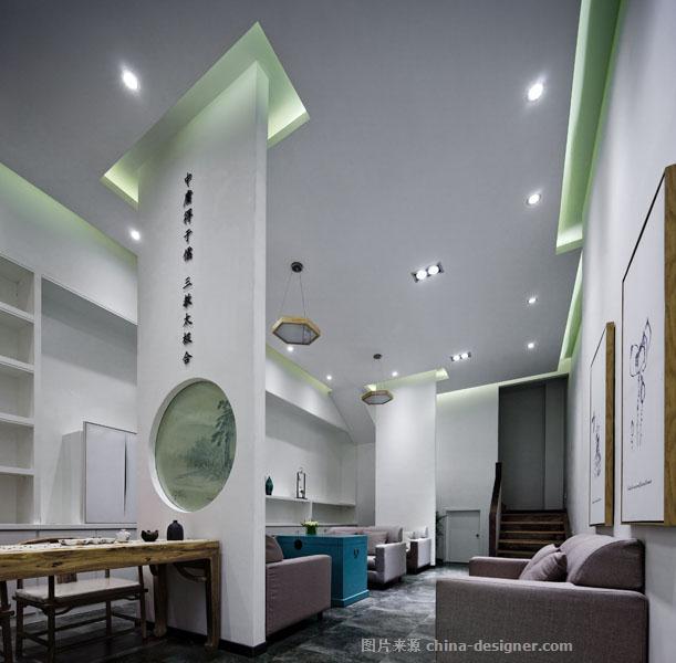 太极会馆-刘非的设计师家园-体育运动场馆,健身会所,休闲会所,新中式,原生态,灰色,白色