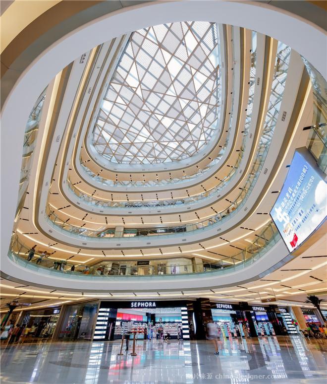 长沙德思勤四季汇广场-姜峰的设计师家园-购物中心/商业综合体,现代简约,黄色,绿色,奢华高贵