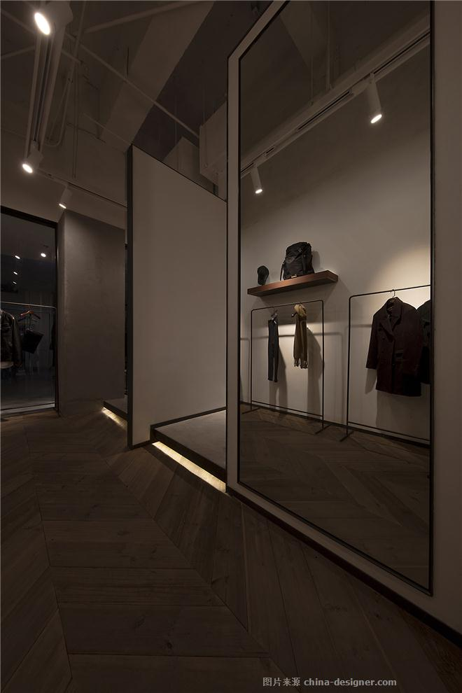 FOCUS-曾伟坤的设计师家园-服饰鞋包店,现代简约,简约大气,白色