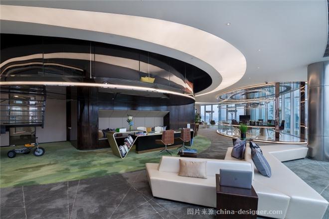 虹桥世界中心(L3号)办公内设计-黄全的设计师家园-办公区,请选择,科技智能,闲静轻松,简约大气