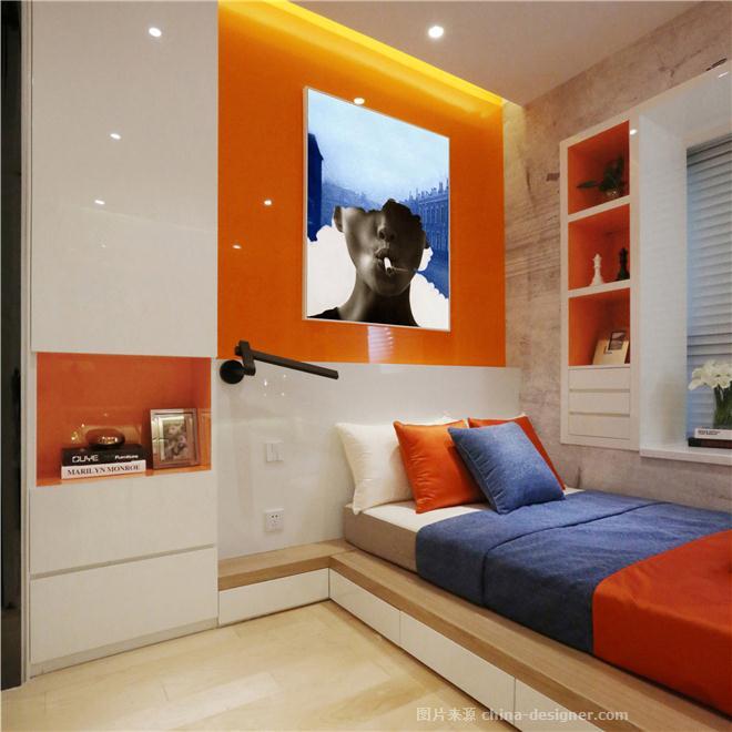微公寓-邹洪博的设计师家园-酒店式公寓,现代简约,紧凑灵活,简约大气,青春活力