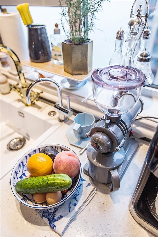 了不起的盖茨比-杜奇哲的设计师家园-三居,法式,奢华高贵,蓝色