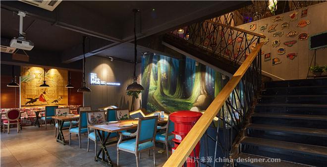 雨花2.0-谢文川的设计师家园-西餐厅,现代简约,工业风,现代,西餐,酒店,浪漫,个性