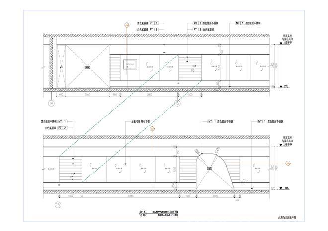 06展厅立面图-展厅立面施工图3