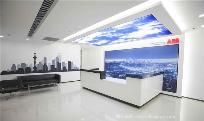 ABB 上海办公室-陈轩明的设计师家园-办公区,现代简约,简约大气,蓝色