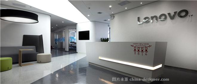 联想集团西安办公室-张英的设计师家园-办公区,现代简约,简约大气