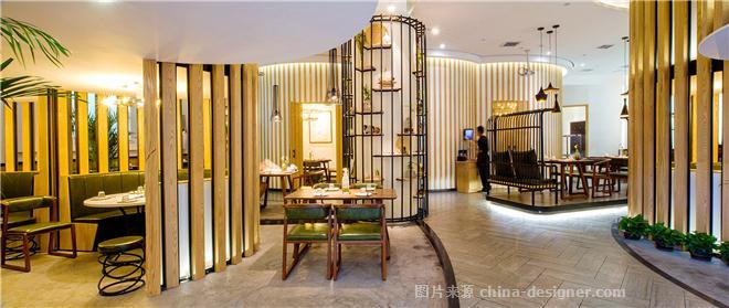 辣呦中国菜-赵越的设计师家园-中餐厅,新中式,简约大气,青春活力