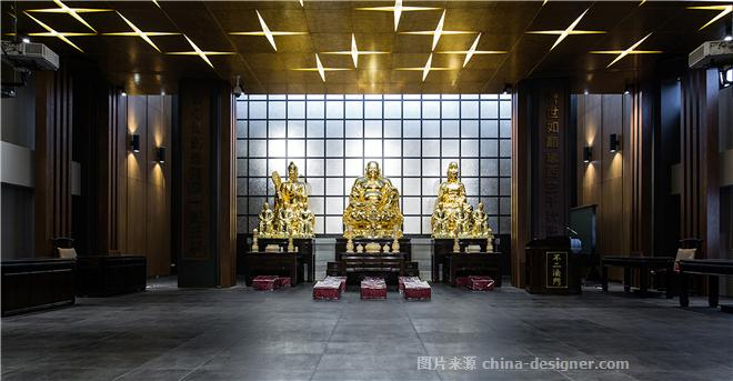 星.严-林奇�h的设计师家园-寺庙,现代简约,沉稳庄重,奢华高贵,,�y色,金色,棕色,灰色
