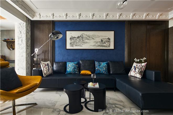 西山壹号院公寓-【诉・遇】-张子浩的设计师家园-四居,现代简约,灰色,白色