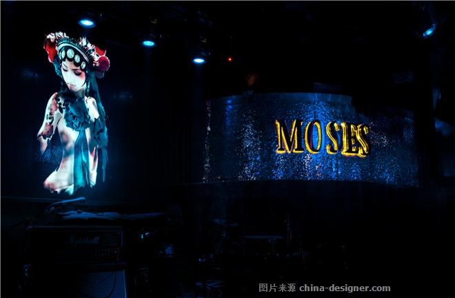 摩西CLUB-纳杰的设计师家园-酒吧,新中式,奢华高贵,黑色