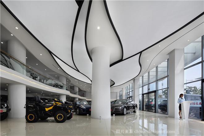 良记名车行-王洪的设计师家园-汽车4s店,现代简约,黑色,灰色,白色
