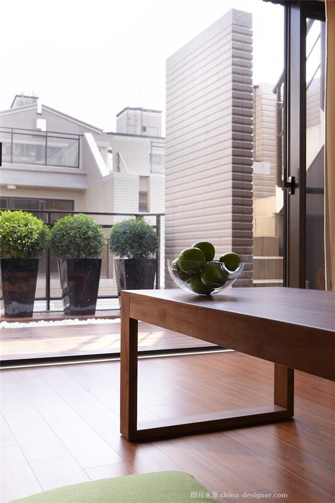 台�吵鞘�e墅-�T出�坊�-��P明的设计师家园-联排,其他风格,其他气氛,闲静轻松,白色
