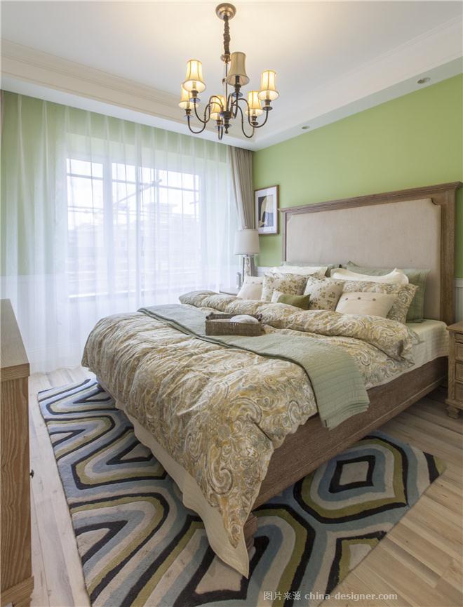 万锦香樟树洋房样板间-武翟的设计师家园-别墅样板间,田园,青春活力,闲静轻松,黄色,绿色