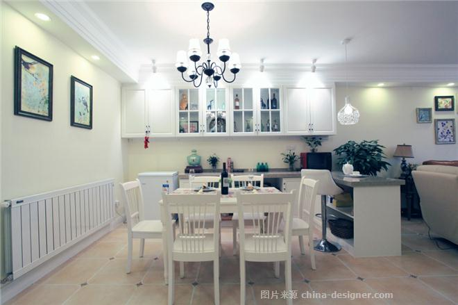 金熙府-张荣的设计师家园-平房,现代简约,简约大气,白色