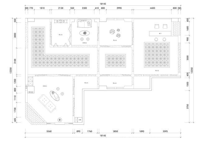 石家庄富奥斯门店-王常龙的设计师家园-家具店,建材店,购物中心/商业综合体,现代简约,棕色,白色