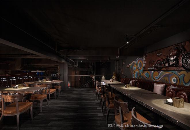 暨阳湖BOSS酒吧-沈健的设计师家园-酒吧,美式,工业化,简约大气