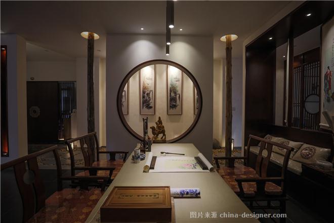 紫风阁私人会所-吴志庆的设计师家园-其他                                                                                                ,娱乐会所,新中式,闲静轻松,棕色,白色
