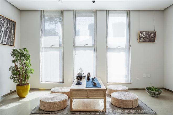 《一亩三分地艺术空间》-勾强的设计师家园-展厅,现代简约,绿色,沉稳庄重,简约大气,闲静轻松,白色
