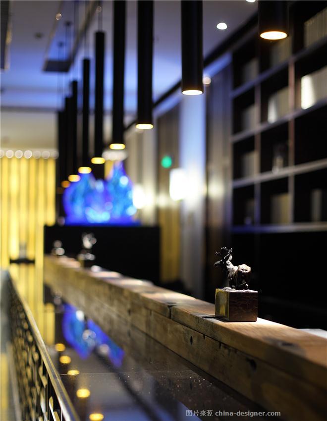 沈阳绿波廊永乐汇商务会馆-王璐的设计师家园-洗浴中心,新中式,简约大气,沉稳庄重,闲静轻松,绿色,黑色,白色