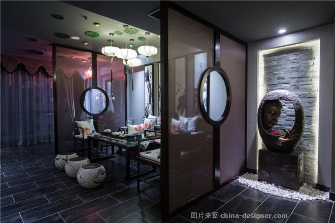 爱莲说-田永红的设计师家园-休闲会所,新中式,黑色,灰色