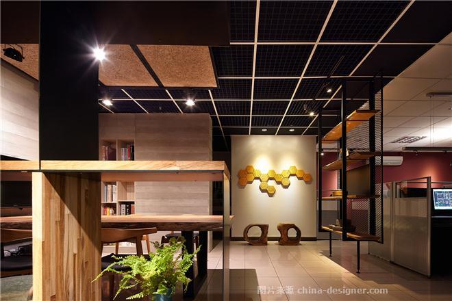台��-�_�A�O�台北�k公室-��P明的设计师家园-办公区,其他风格,沉稳庄重,原生态,灰色,黑色